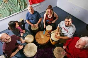 Drum Circle Therepy